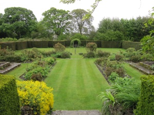 Formal Garden from The House